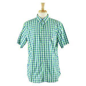 Chaps Button Down Shirt LG Green